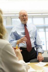 Instructor Jim Miliken
