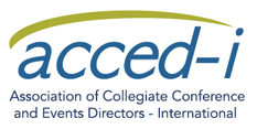 acced-i logo association of collegiate conference and events directors international