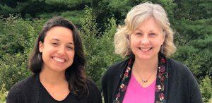 Carrie Sullivan & Sarah Matari headshot photo nature background