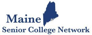 Maine Senior College Network logo