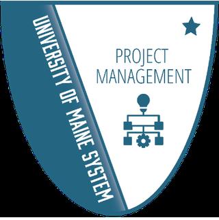 UMaine Project Management Badge