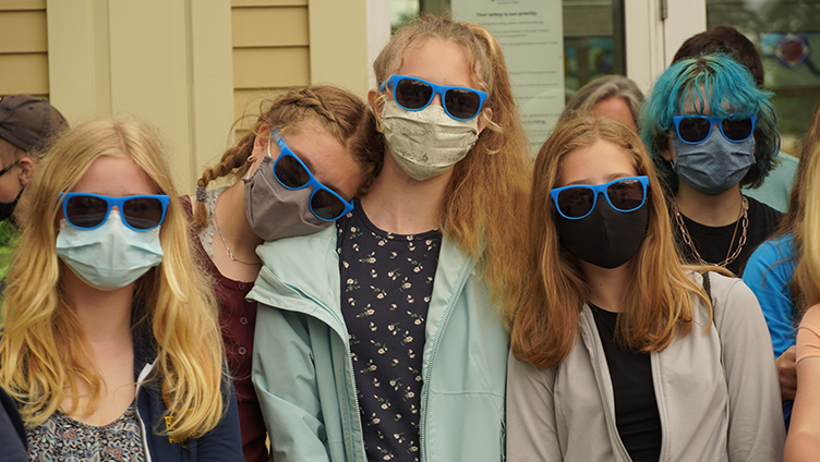 featured image for From the Outside In: Troy Howard Middle School Students Visit the Hutchinson Center