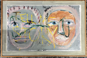 Image of two faces